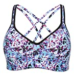 ATTRACO sport bra for women light support workout