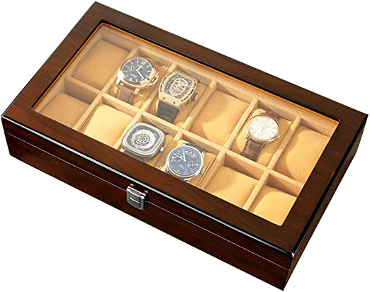 0LL Caja de Relojes, Estuche para Relojes, Organizador para Reloj ...