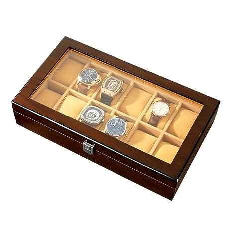 0LL Caja de Relojes, Estuche para Relojes, Organizador para ...