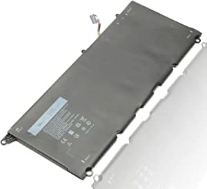 JD25G 9350 9343 Laptop Battery for Dell XPS 13-9343 13-9350 13D-9343, 90V7W P54G JHXPY 5K9CP RWT1R 0RWT1R 0DRRP 0N7T6 DIN02 090V7W 13D-9343-1808T 3708 XPS13-9350-D1608 D1508G D1708