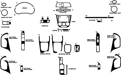 Rdash Carbon Fiber Dash Kit for Subaru Impreza 1997-2001