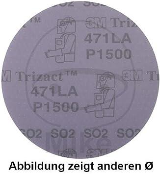 Discos Trizact™ 150 mm P1500 (Caja con 25 discos): Amazon.es: Coche y moto