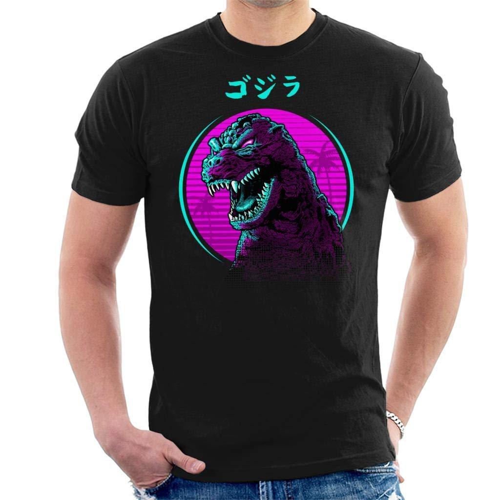 Retro Godzilla Face S Tshirt