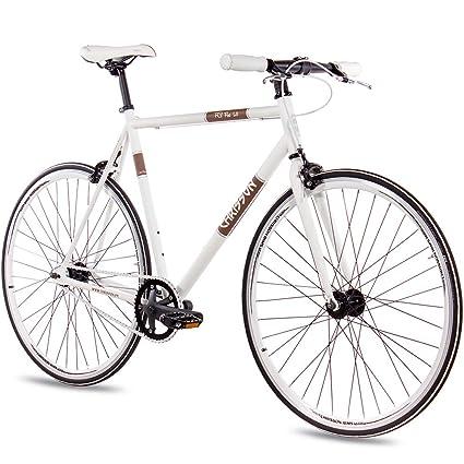 CHRISSON FG Flat 1.0 - Bicicleta de 28 Pulgadas, Estilo Vintage ...