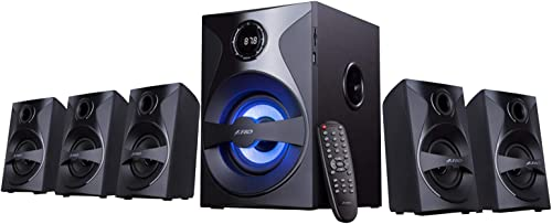 3. F&D F3800X 5.1 Channel 80W Multimedia Bluetooth Speakers
