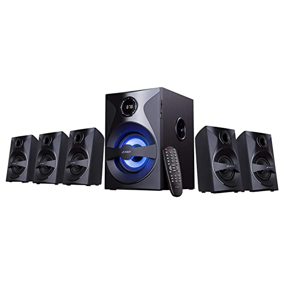 F D F3800X 5.1 Channel Multimedia Bluetooth Speakers Bluetooth Speakers