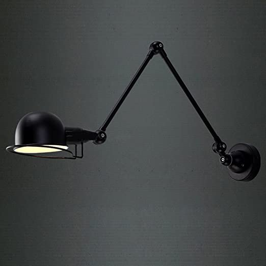 Incroyable BAYCHEER HL371310 Industrial Retro Vintage Style Brilliant Design Swing Arm  Metal Wall Lamp Adjustable Wall Light 1 Light     Amazon.com