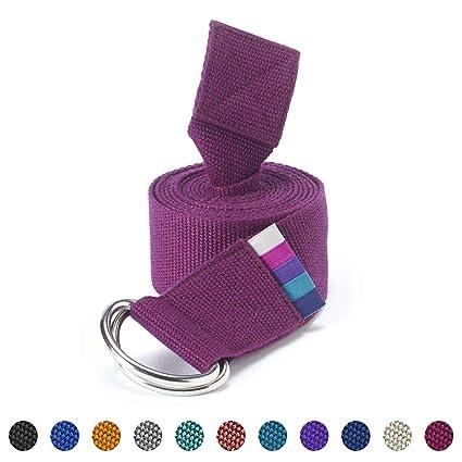 Yogamatters - D-Ring Yoga Cinturón, Pomelo: Amazon.es ...