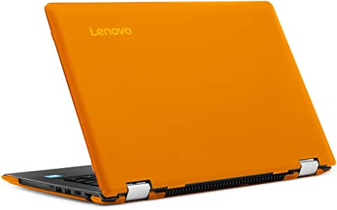 "iPearl mCover Hard Shell Case for New 14"" Lenovo Ideapad Flex 5 14(Intel CPU Only) (5-1470, NOT Compatible with Older Flex 4-1470 Series) Laptop Computers (Orange)"