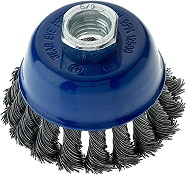 10-Pack Mercer 188011B Premium Crimped Cup Brush 2-3//4 x 5//8-11 For Angle Grinders