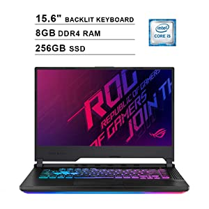 ASUS 2019 ROG Strix 15.6 Inch FHD Gaming Laptop (9th Gen Intel Hexa-core i5-9300H up to 4.1 GHz, 8GB RAM,...