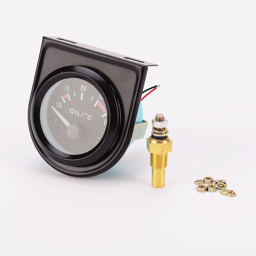 SDENSHI Universal Motorrad Elektrische Digitale /Öltemperaturanzeige