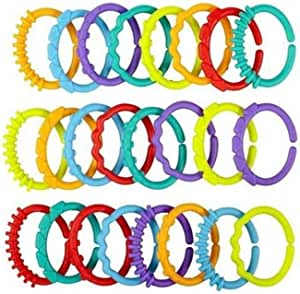 لعبة الأطفال للتسنين ذات وصلات ملونة
