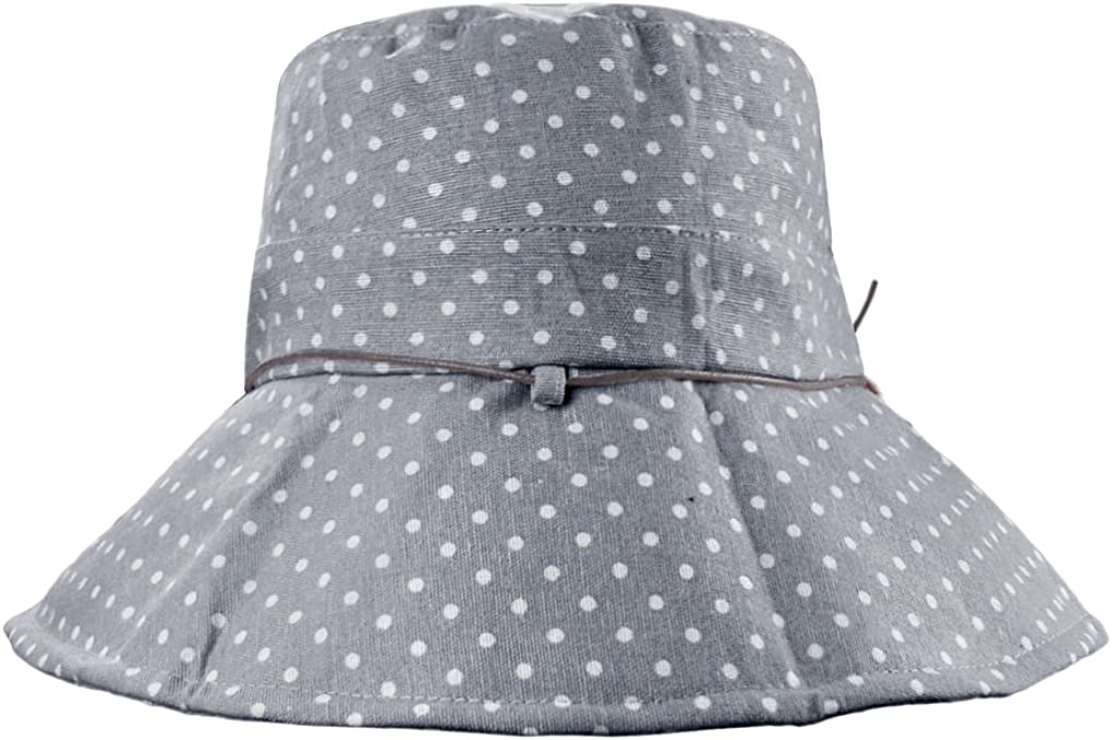 sombrero de playa protecci/ón solar Sombrero de mujer de algod/ón FakeFace gorra antirayos UV ajustable