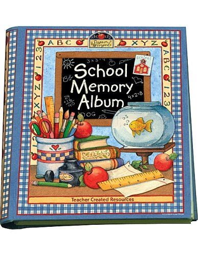 School Memory Album: A Collection of Special Memories, Photos, and Keepsakes from Kindergarten Through Sixth - School Record Book