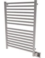 Amba Q 2842 B Quadro Series Collection Towel Warmer, Brushed
