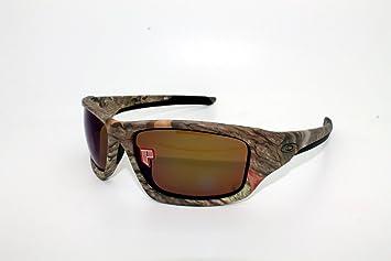 Oakley Gafas de sol OO9236 – 13 Válvula Woodland camuflaje marco lentes polarizadas Gafas de sol