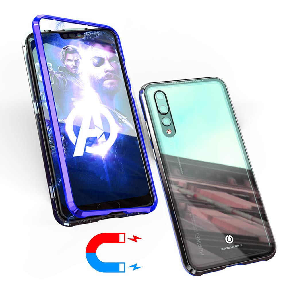 official photos 19974 10e11 Amazon.com: Magnetic Adsorption Flip Case for Huawei Nova 3i [Strong ...