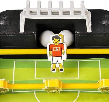 LYATW Juego de fútbol - 1 Mini Mesa de futbolín - Partido de fútbol en Miniatura - Tiny Juego de fútbol - Colecciones Miniatura, Ideas: Amazon.es: Hogar