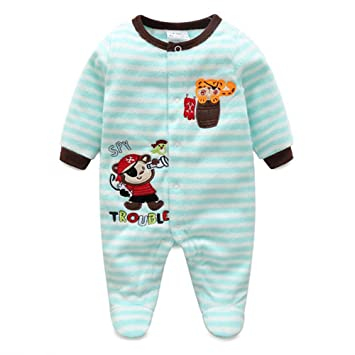 41e035370059 Baby Girls Boys Cartoon Costumes Infant Outfit Baby Romper Sleepsuit ...