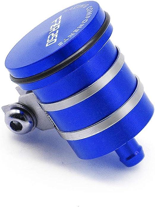 Color : Azul Anhui-bss Cubierta Copa Aceite Cilindro de la motocicleta del fluido del dep/ósito de aceite del freno trasero Embrague tanque for Ducati Diavel Carbon 2011 20122 013 2014 2015
