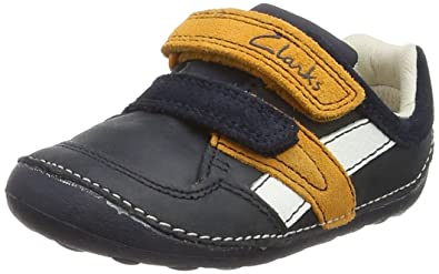c5af3c17d420 Clarks Unisex Babies' Tiny Zakk Birth Shoes: Amazon.co.uk: Shoes & Bags