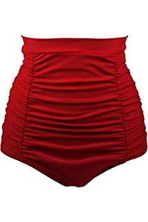 7b108c0fbcf61 ... Two Piece Swimsuits Bathing Suit Swimwear.  3.49 · Aleumdr Women Retro High  Waisted Bikini Bottom Ruched Swim Short Tankinis