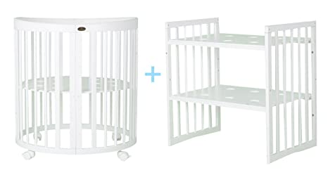Comfortbaby smartgrow 7in1 weiss mit bettset beige: amazon.de: baby