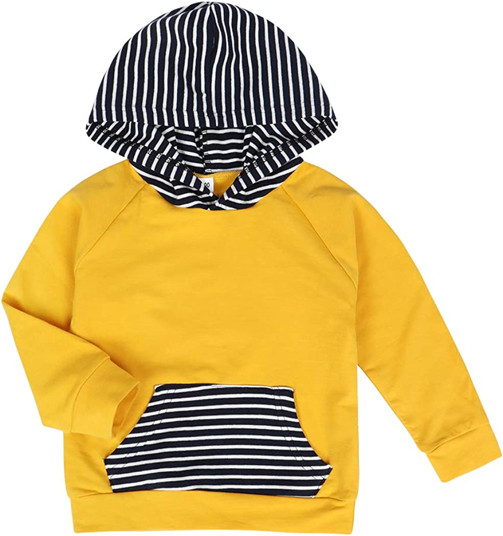 Edjude Infant Baby Boys Hoodie Toddler Long Sleeve Tops Sweatsuit Pants Two Pieces Clothes Outfits Set
