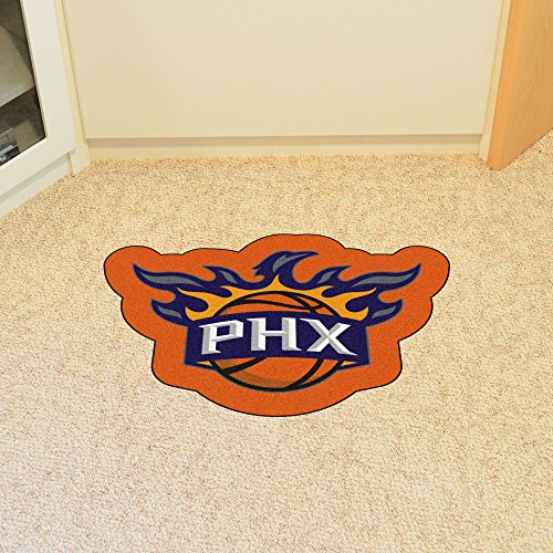 Phoenix Suns Rug - Fanmats 21354 Approx. 3 ft x 4 ft Team Color NBA - Phoenix Suns Mascot Mat