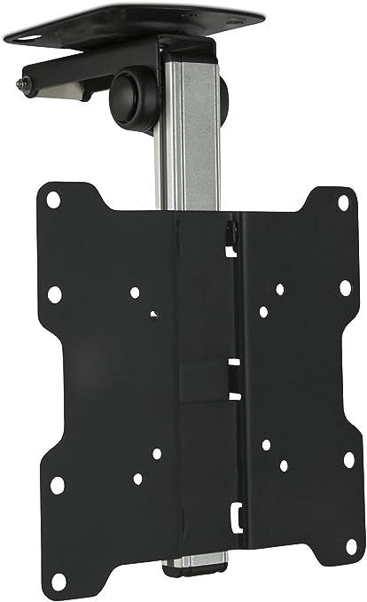 InstallerParts 17/'-37/' TV Aluminum Ceiling Folding TV Mount for Under Cabinet,