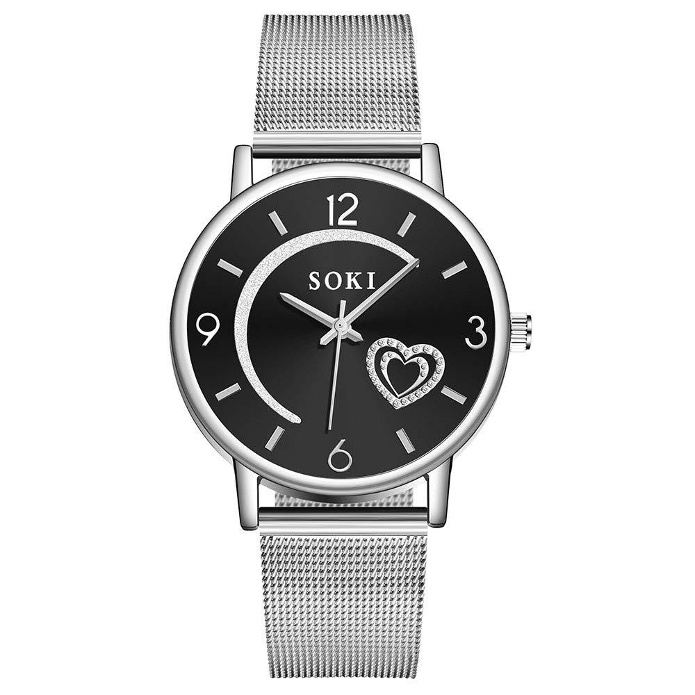 Amazon.com : XBKPLO Women Watches Leather Band Luxury Quartz Watches Girls Ladies, Quartz Watch for Women Guess, Citizen Womens Quartz Stainless Steel Watch ...
