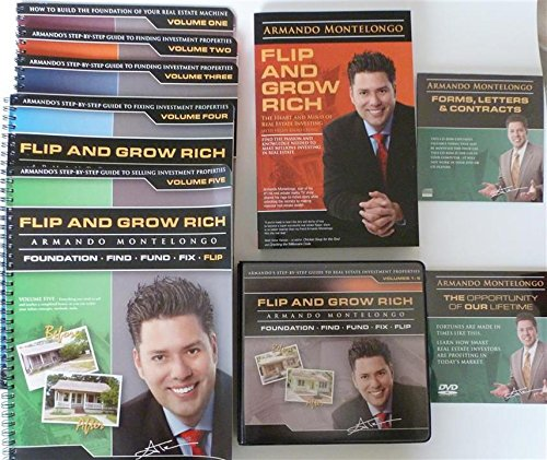 Flip and Grow Rich -- Armando's Step by Step Guide to Real Estate Investment Properties by Armando Montelongo World Wide Inc.