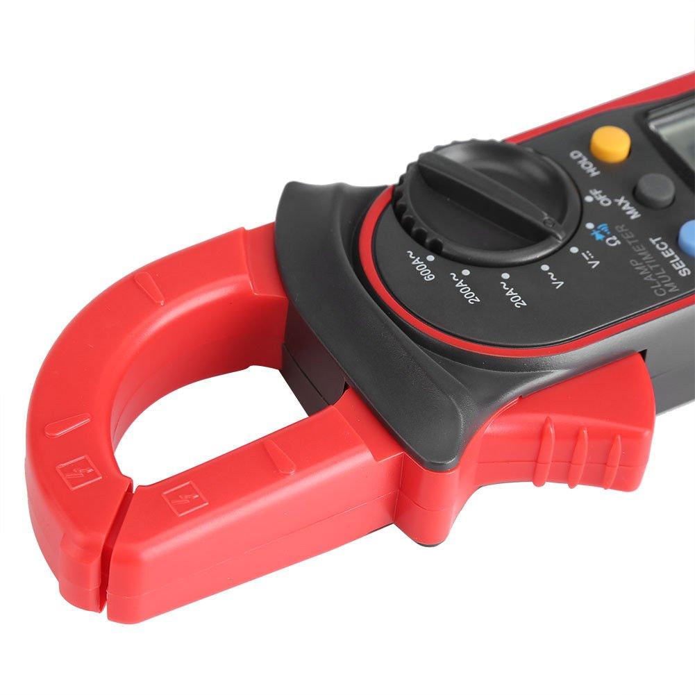 Signstek Uni-t UT202A Auto/Manual Range Digital Handheld Clamp Meter Multimeter Test Tool Digital Handheld Clamp Ohm Tester, AC/DC Voltmeter, AC Current by Signstek (Image #8)