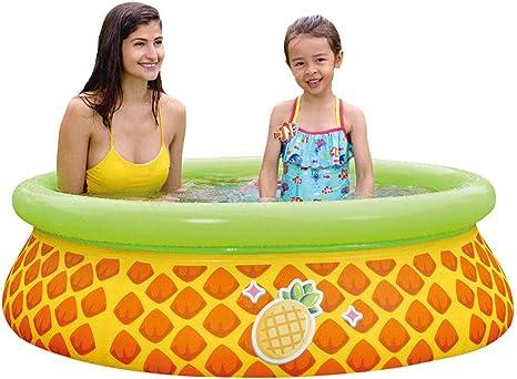 LHY EQUIPMENT Piña Rociador de Agua Piscinas de Jardín para Niños Piscina Inflable Juegos Familiares/Juguetes Al Aire Libre Verano,59 * 16.1 in: Amazon.es: Deportes y aire libre