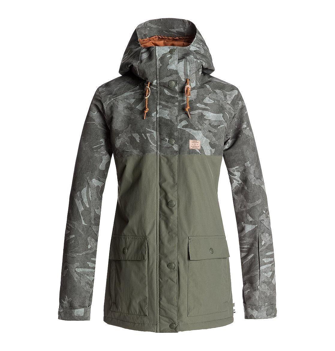 75d9b305963 DC Shoes Cruiser - Snow Jacket for Women EDJTJ03028  DC Shoes   Amazon.co.uk  Clothing