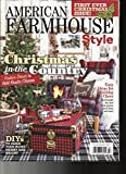 AMERICAN FARMHOUSE STYLE MAGAZINE CHRISTMAS IN THE COUNTRY WINTER, 2017