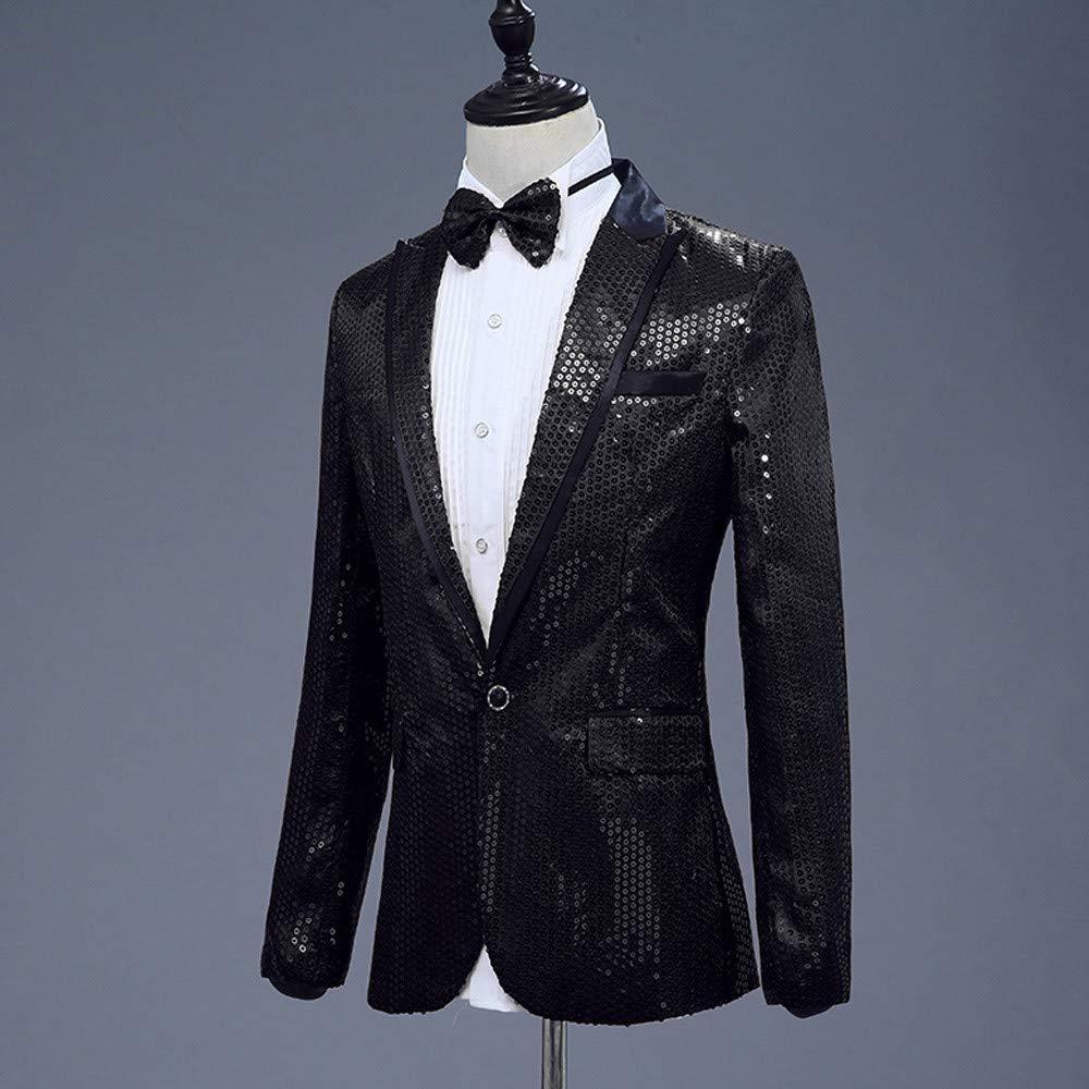Amazon.com: Anfitrión Blazer MILIMIEYIK - Vestido de fiesta ...
