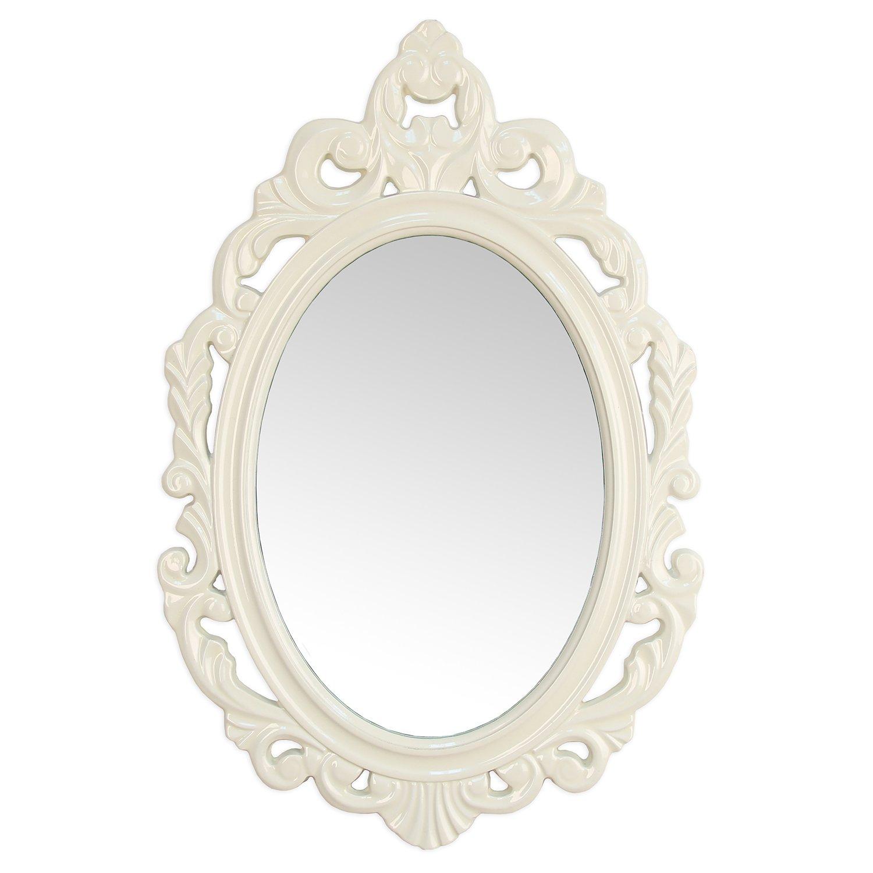 Stratton Home Wood Baroque Wall Mirror