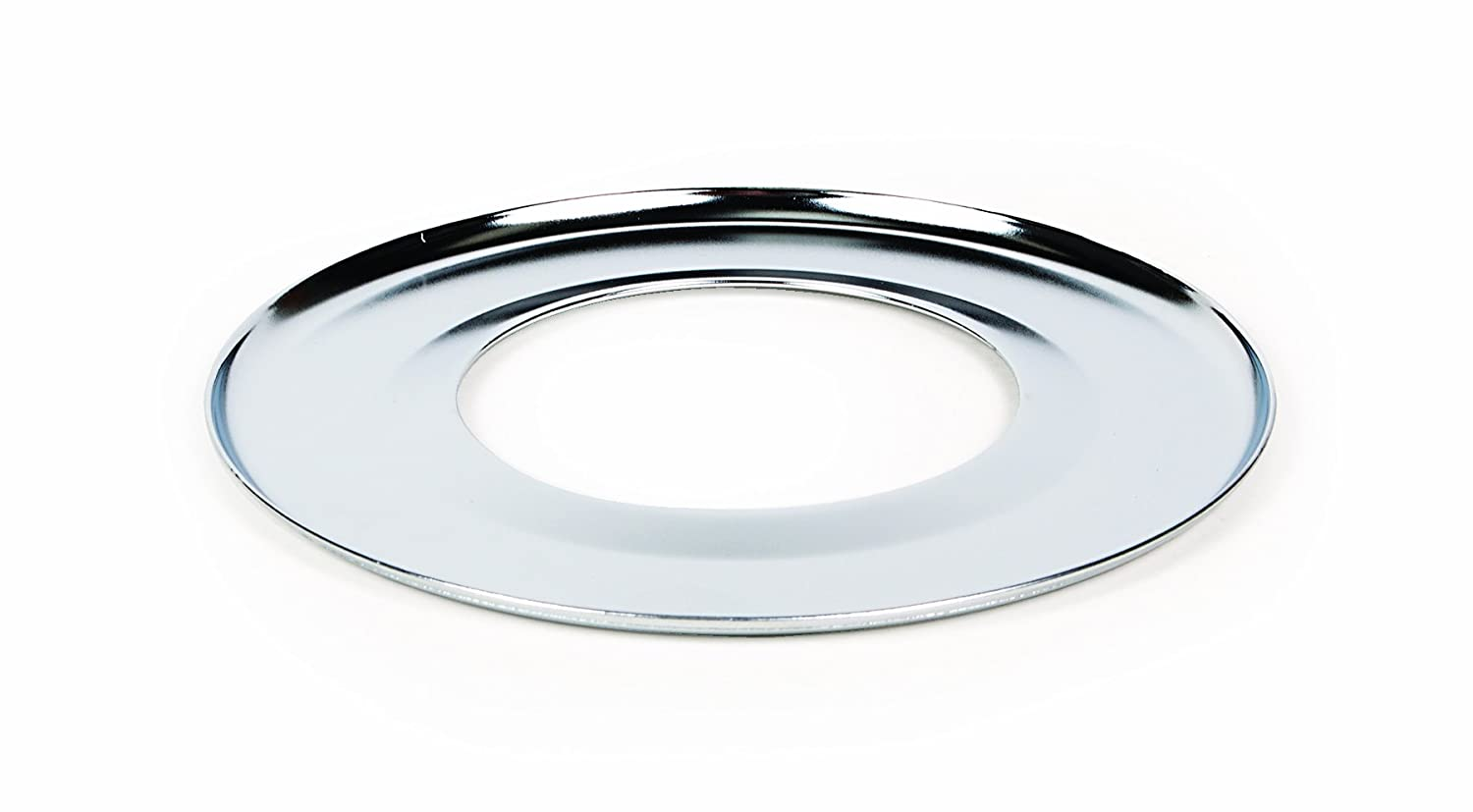 "Camco 00363 7"" Round Gas Drip Pan (Chrome)"