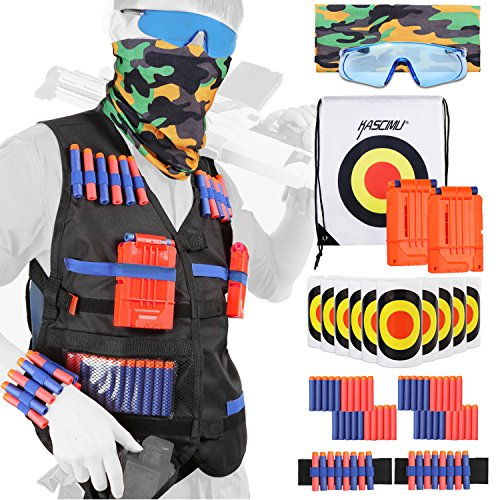 Price comparison product image Tactical Vest Kit for Nerf Guns N-strike Elite Series - Best Nerf Gun Accessories