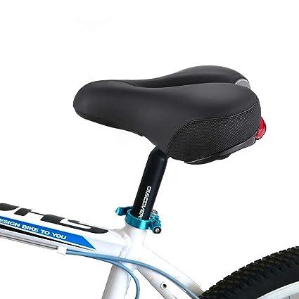 Sillín de bicicleta de próstata DIY que