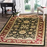 Safavieh Lyndhurst Collection LNH212G Traditional Oriental Black and Red Area Rug (8' x 11')