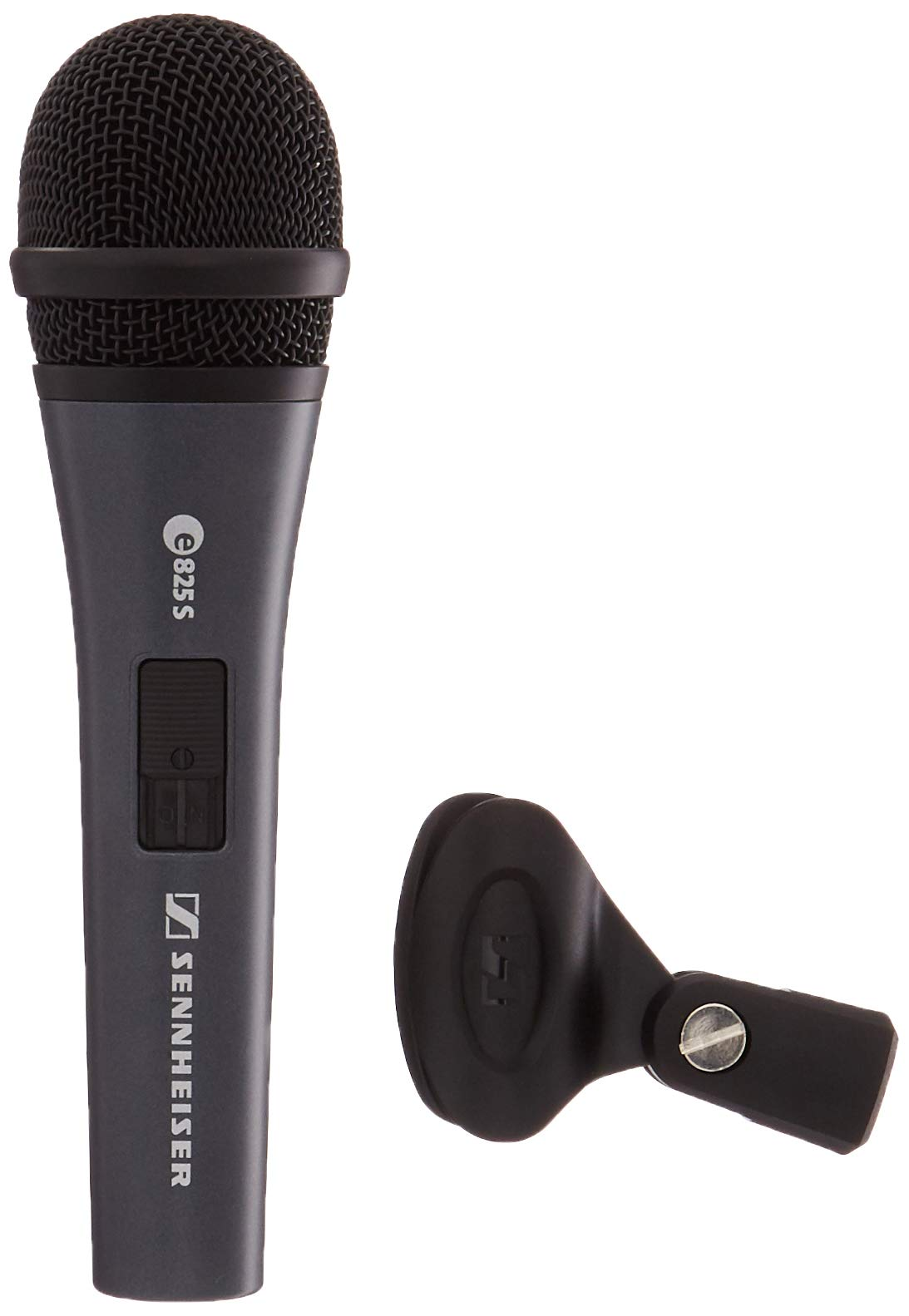 Sennheiser E825-S Handheld Cardiod Dynamic Microphone with On/Off Switch by Sennheiser Pro Audio