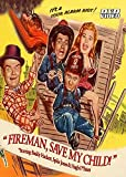 Fireman Save My Child-DVD-Starring Hugh O'Brian and Buddy Hackett-1954