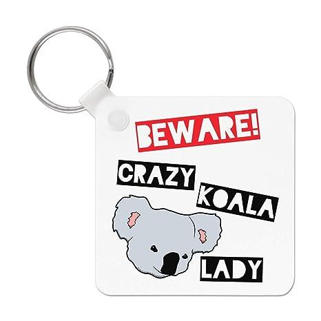 Gift Base Beware Crazy Koala Señora Llavero: Amazon.es: Hogar