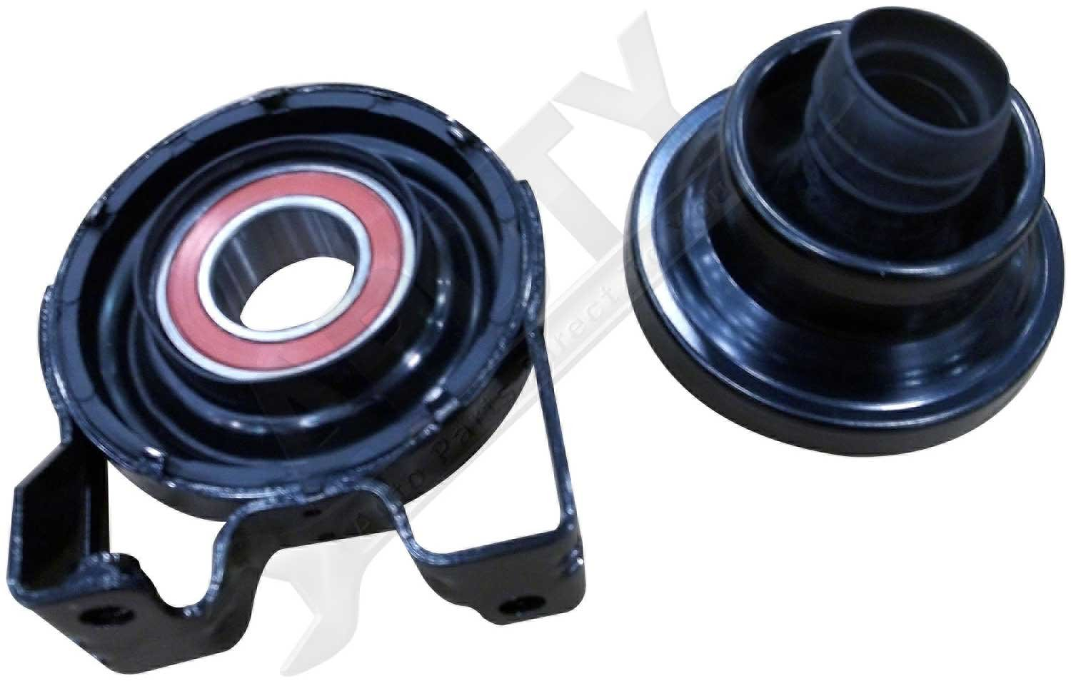 APDTY 045814 Driveshaft Center Support Bearing Kit Includes Support Bearing, Rubber Boot, and Clamps Fits 2003-2010 Porsche Cayenne 2004-2007 Volkswagen Touareg (Replaces OE 95542102015, 955421020SUP)