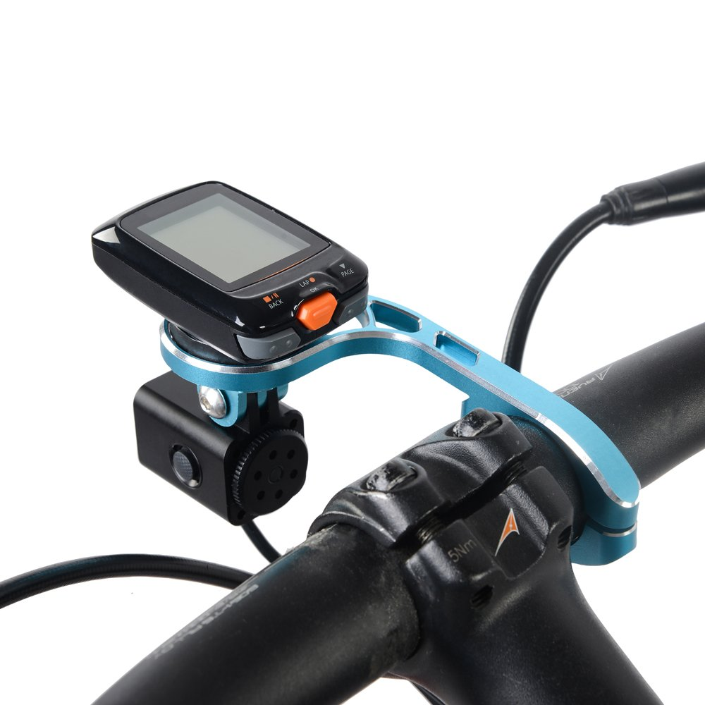 TrustFire Garmin Bike Mount,Aluminum Out Front Computer Mount for Garmin Bryton GoPro,Compatible with 31.8mm 25.4mm Handlebar by TrustFire (Image #5)