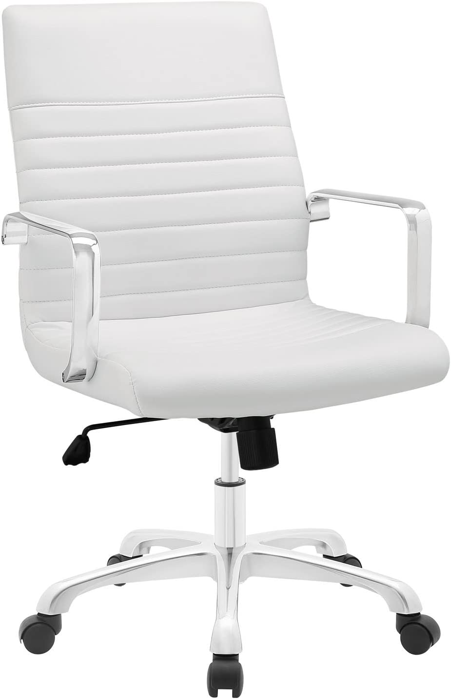 Modway MO-EEI-1534-WHI Finesse Mid Back Office Chair, White