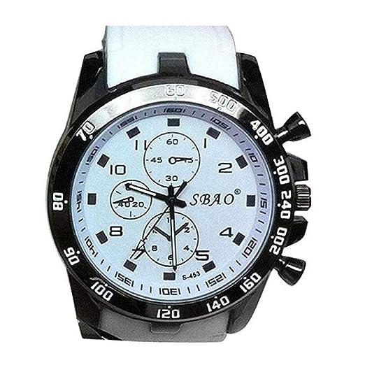 Scpink Reloj Deportivo analógico para Hombre Reloj Militar de Cuarzo para muñeca Reloj Grande Digital para Esfera Doble, Relojes para Hombres a la Venta ...